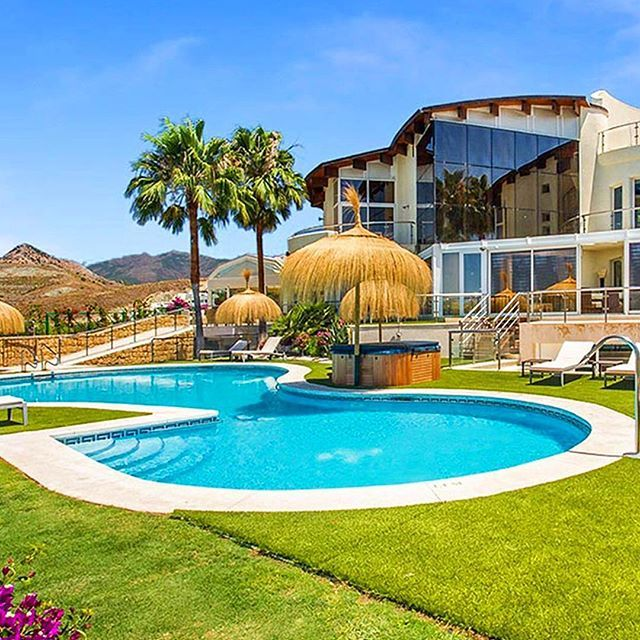 Amenities On Hand At Villa El Cid In #Spain Are Extensive And Include  Generous Heated · Indoor Swimming ...