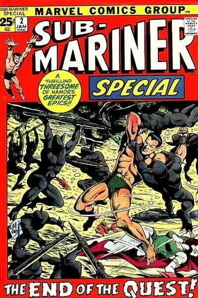 Image result for sub-mariner the quest