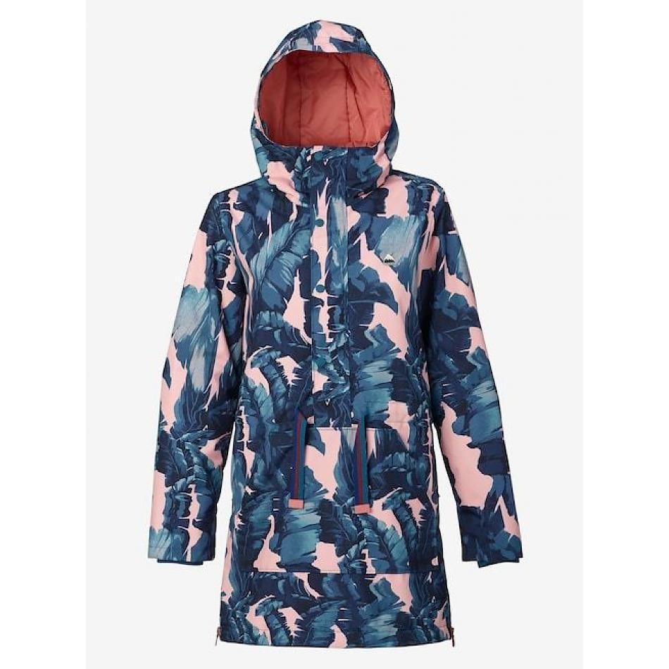 0a4d0241edf3c women s burton chuteout anorak jacket in zolatta