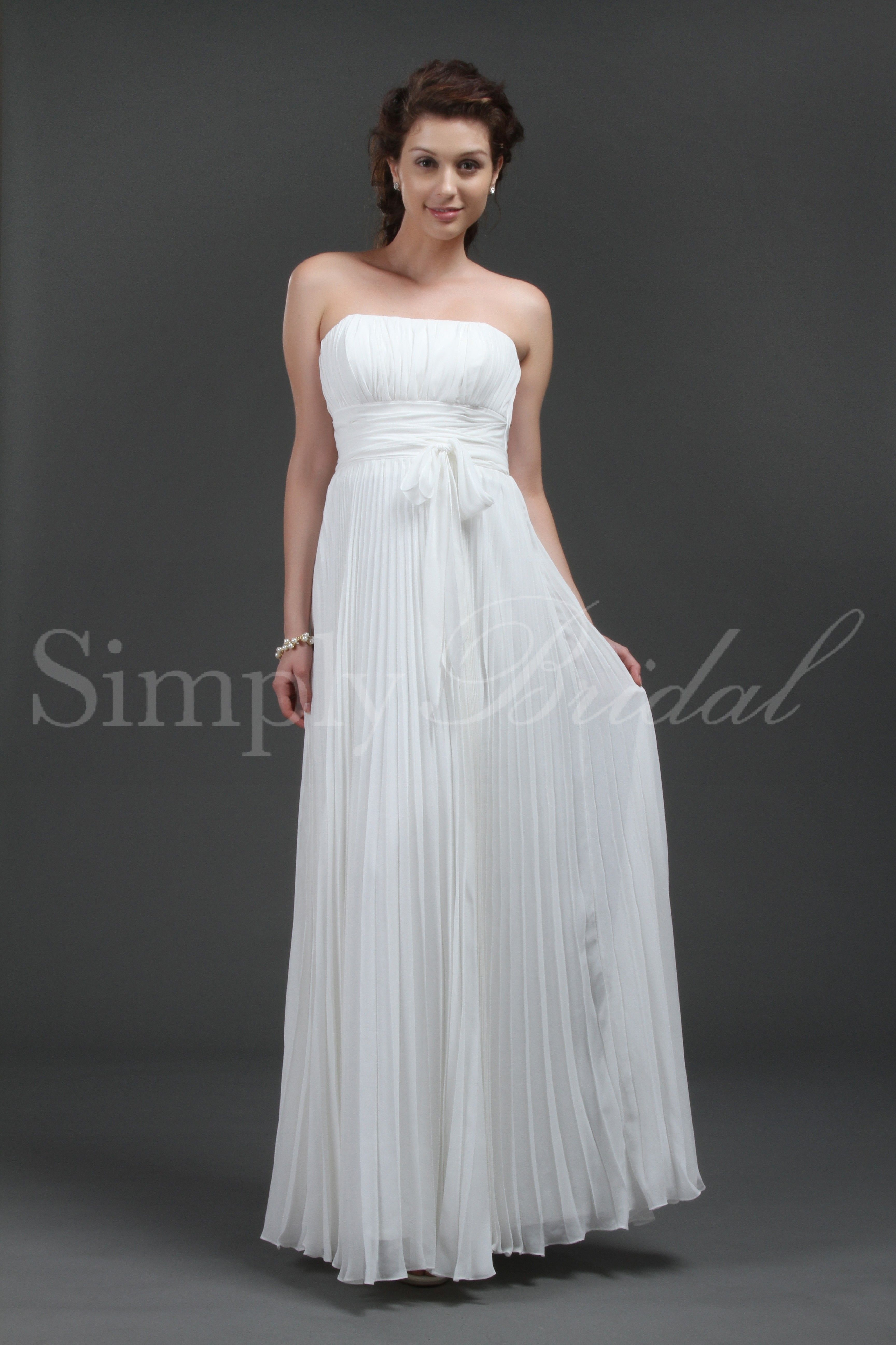 Wedding renewal dresses for beach  Eloise Gown  Weddings Simple weddings and Wedding