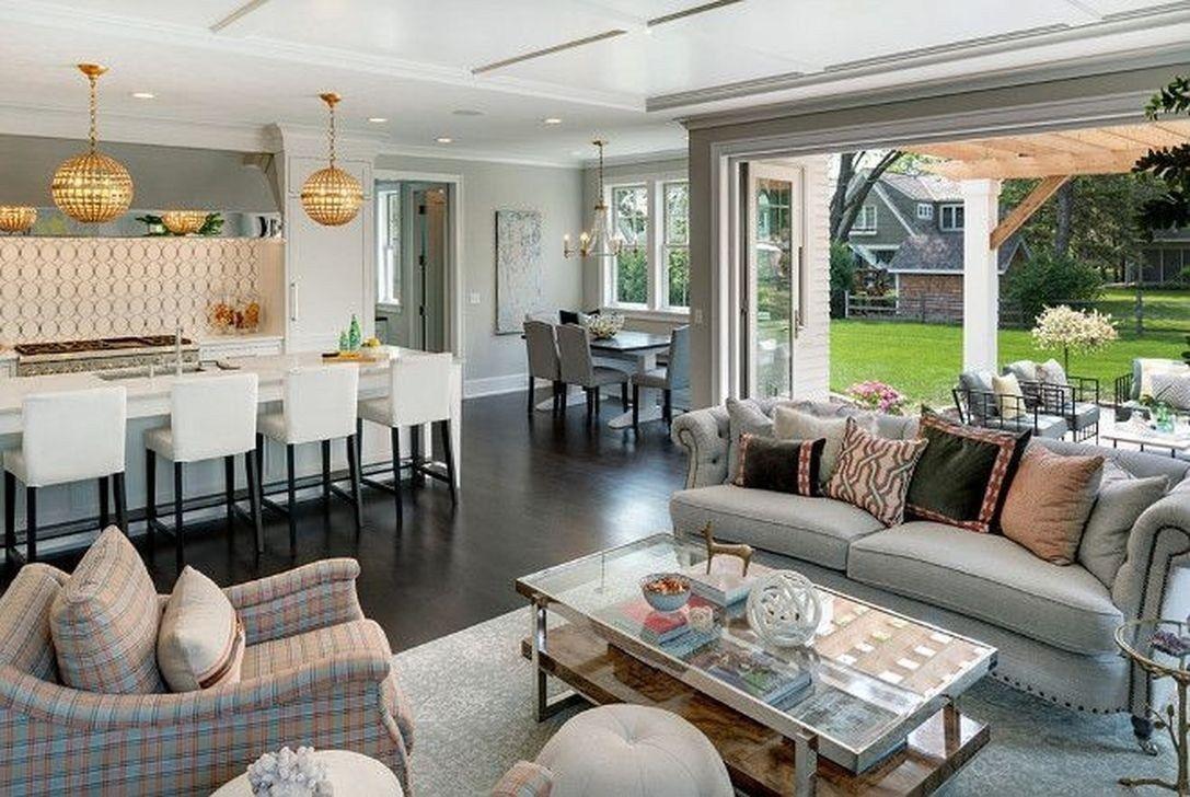 20 Elegant Open Plan Living Room Decorating Ideas Trendh
