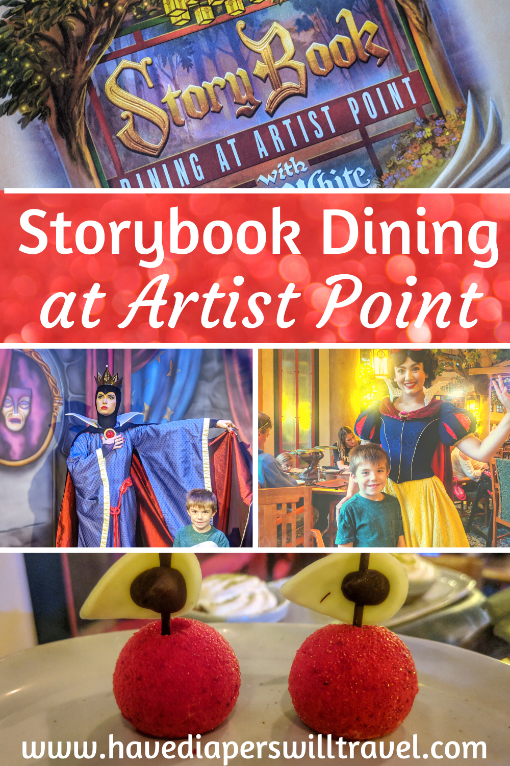 Storybook Dining at Artist Point dining review Have