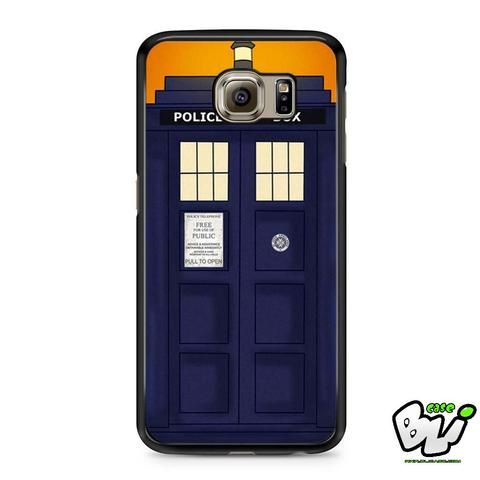 Blue Tardis Doctor Who Samsung Galaxy S7 Case