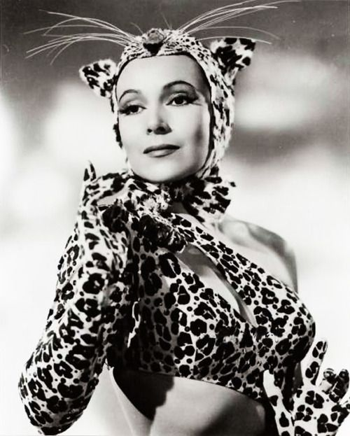"""Dolores del Rio in """"Journey Into Fear."""" Try finding a hotter cat woman!"""