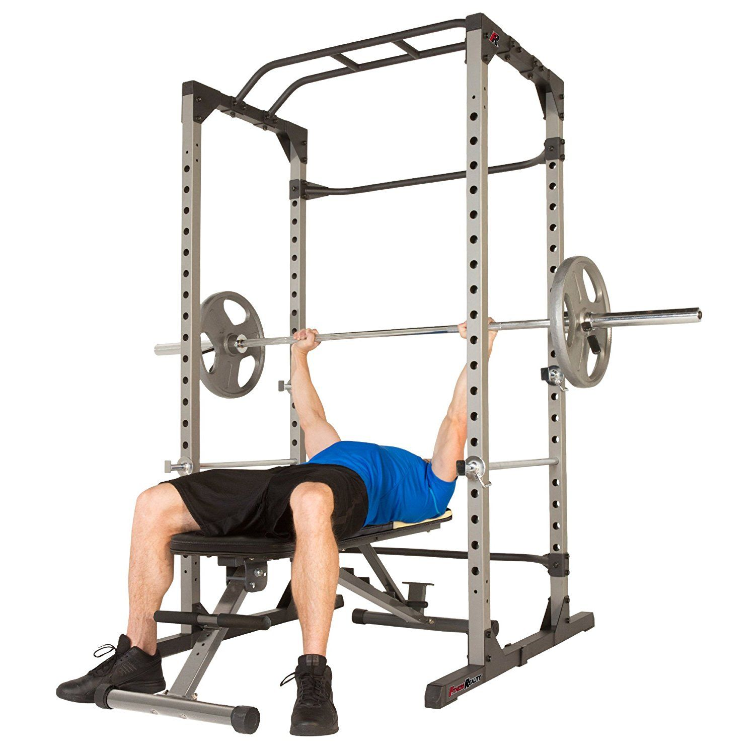 Fitness Reality 810xlt Super Max Power Cage Best Home Gym Equipment Weight Benches At Home Gym