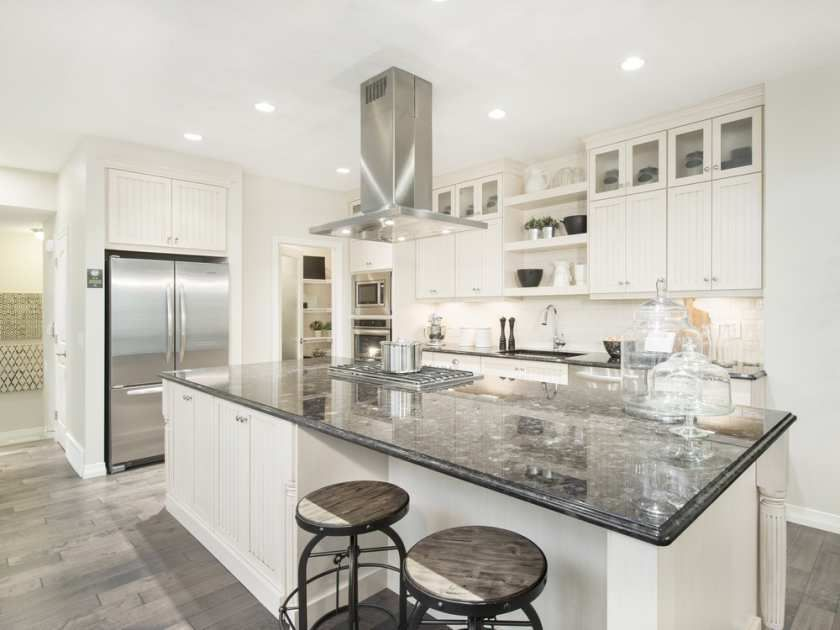 Kitchen In The Intrigue Show Home By Jayman Built Sunset Ridge Cochrane