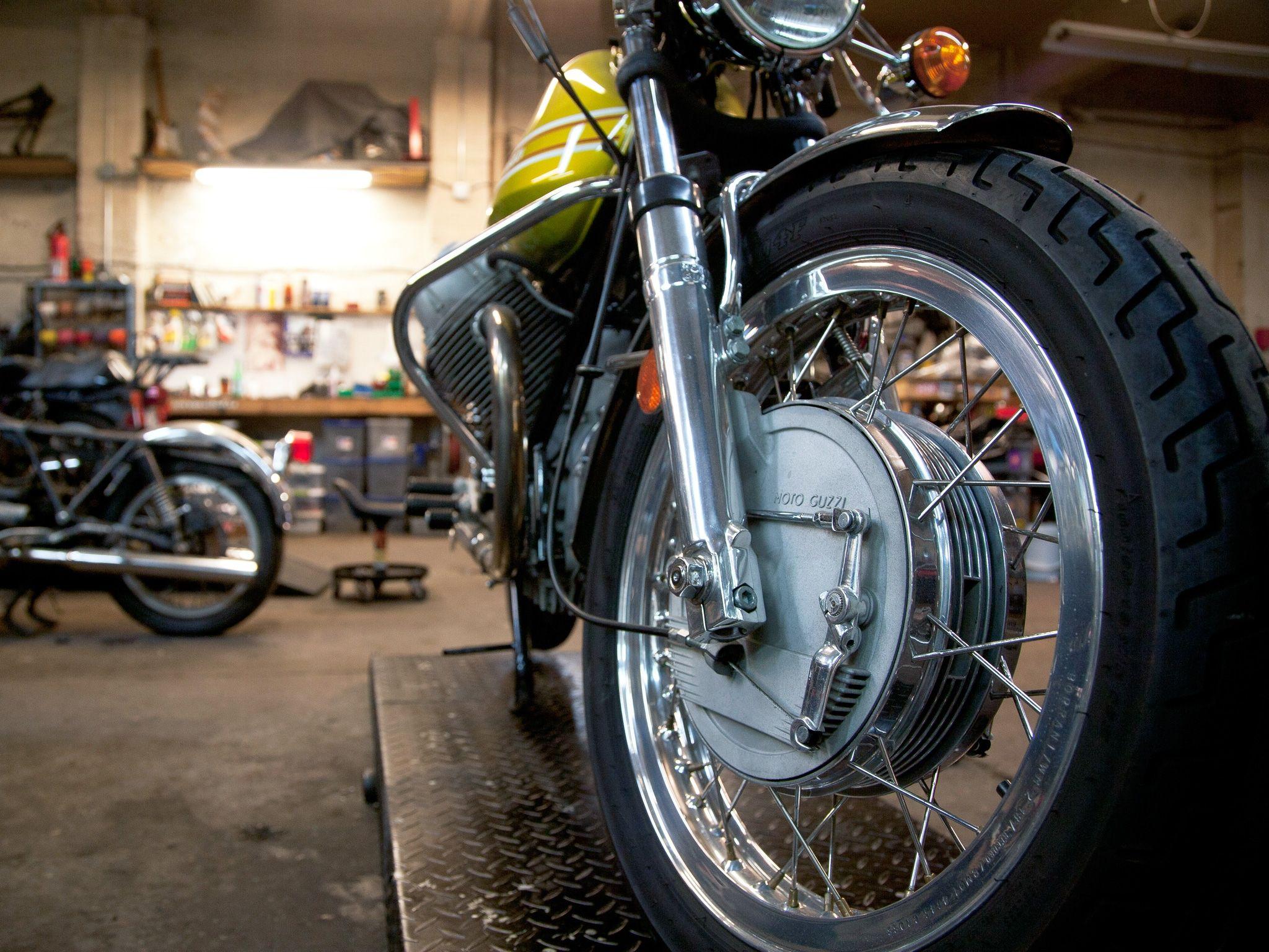 Moto Borgotaro Repair Shop Brooklyn Motorcycle Workshop