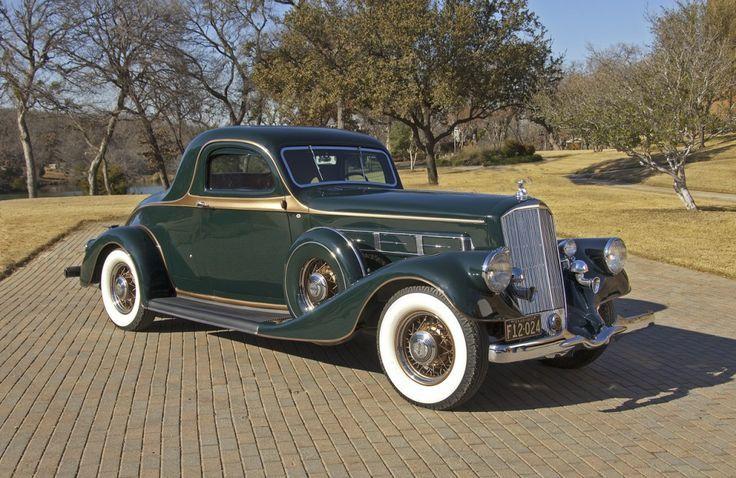 1935 Pierce Arrow 845 Rumble Seat Coupe Classic Cars Vintage