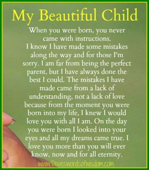 letter to my unborn child waitingongod