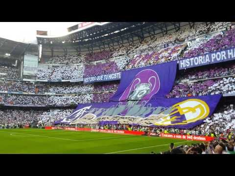El Bernabéu canta a capela Hala Madrid Y Nada Más (Real Madrid - Juventus) - YouTube