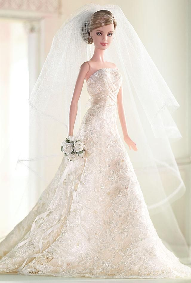 Carolina Herrera Bride Barbie® Doll | Barbie Collector | Barbie ...