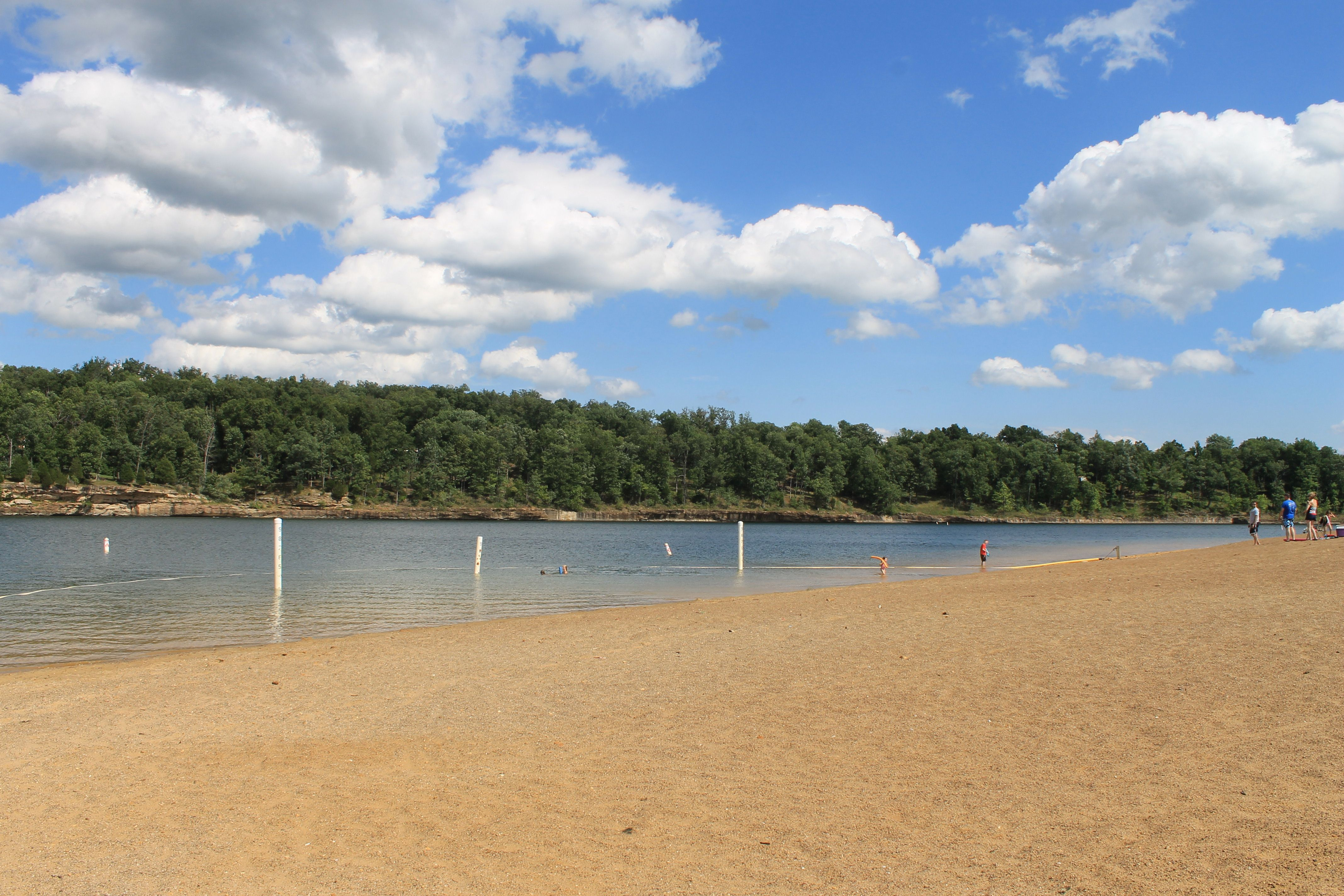 Public Beach at Rough River Dam State