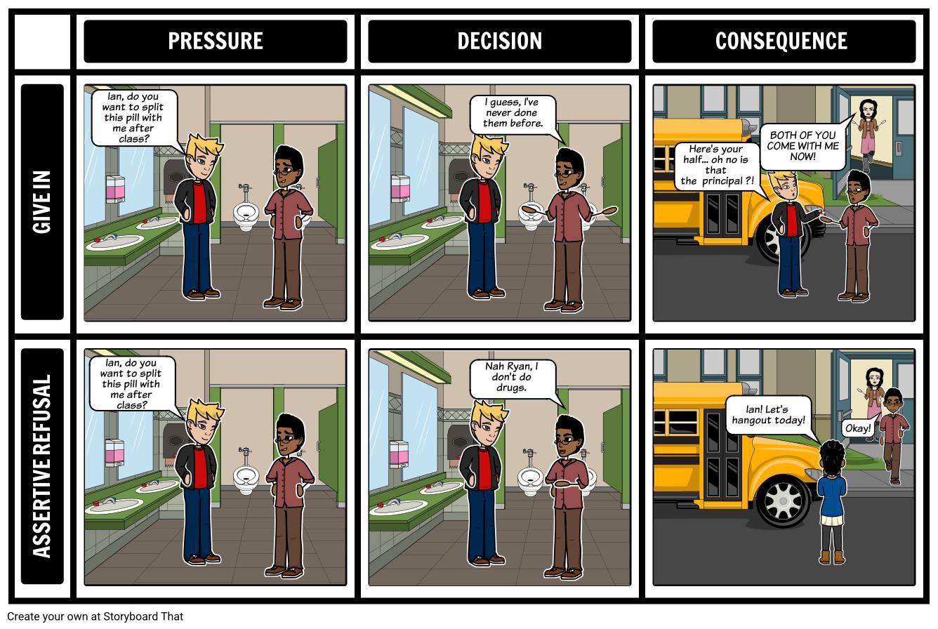 Peer Pressure Refusal Skills