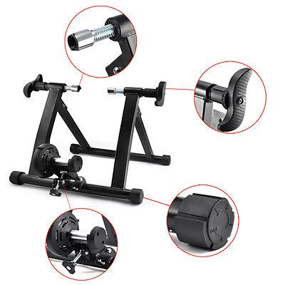 Us Pro Exercise Bicycle Cycle Bike Trainer Stand Magnetic