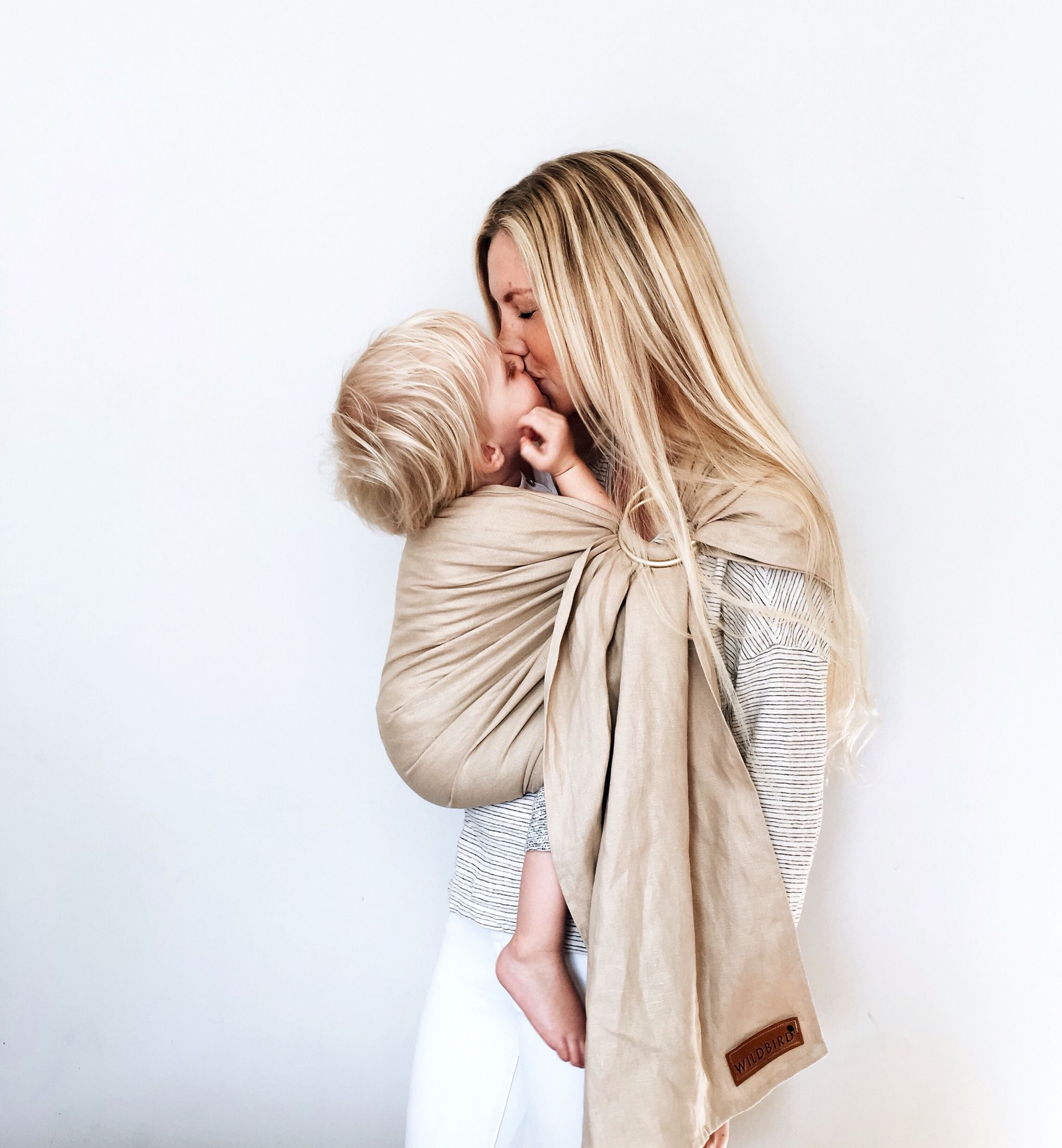 Wildbird Linen Ring Sling Baby Carrier Baby Carrier