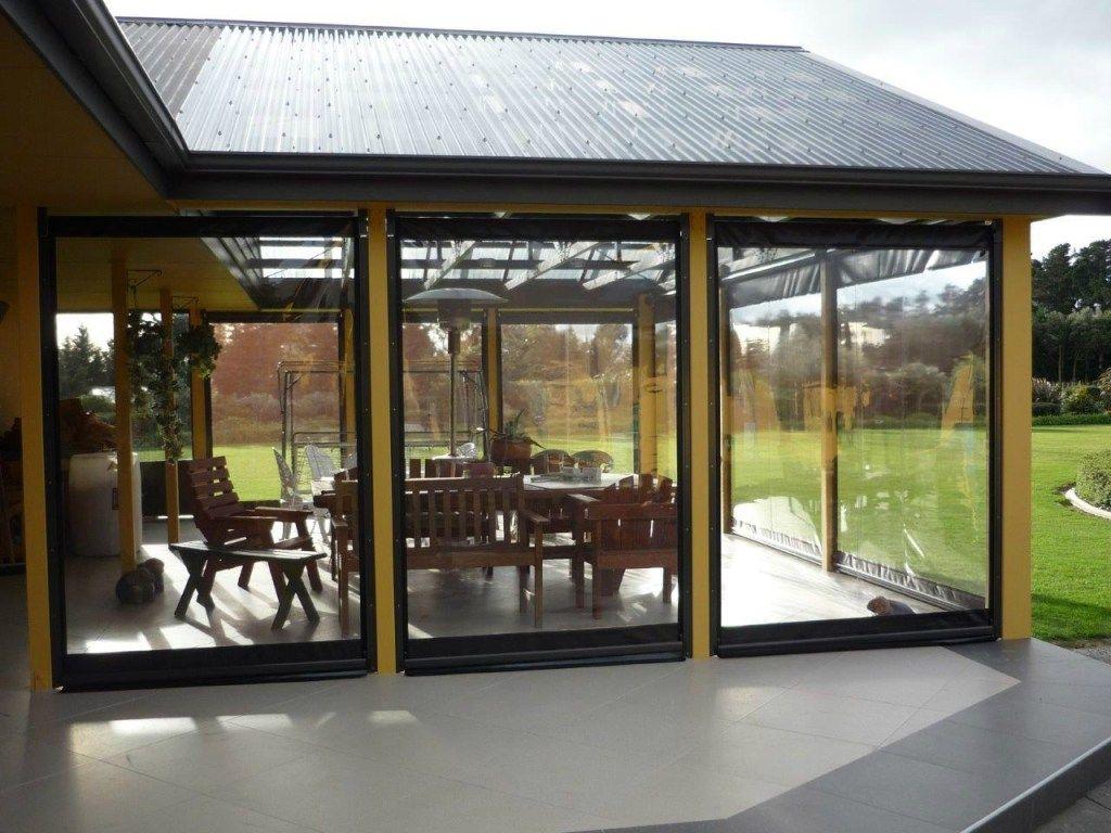 Clear Vinyl Porch Enclosure Panels Porch Enclosures Outdoor Curtains Porch Curtains