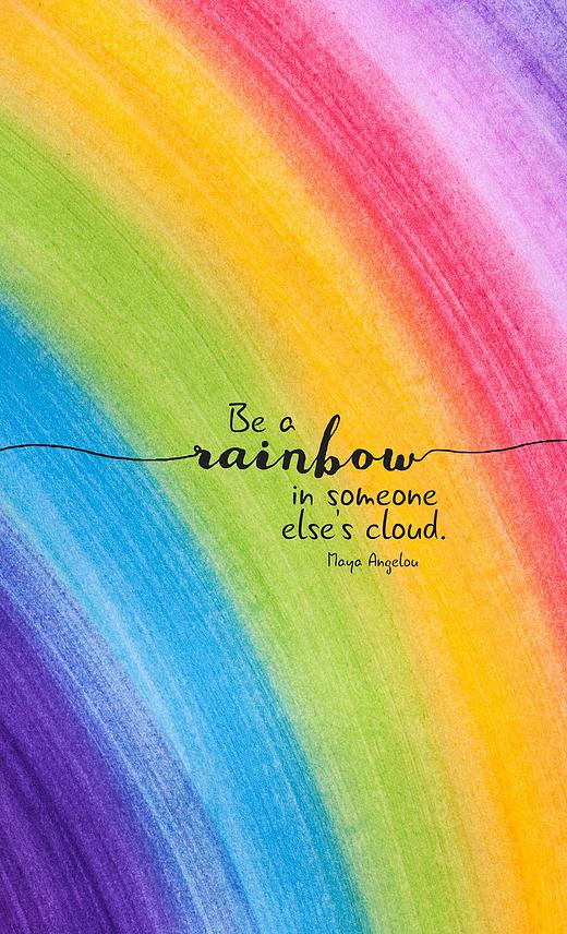 Every Day Spirit | Shop | Rainbow quote, Encouragement ...