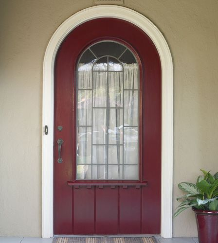 AFTER: The Rich, Mahogany-red Color Adds Impact. I LOVE