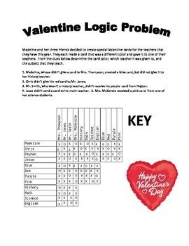 Valentine logic and venn diagram bundle venn diagrams problem get ready to use your problem solving skills students can complete venn diagrams ccuart Images