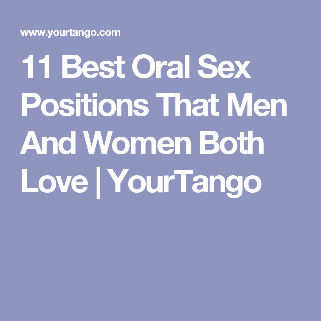why men love oral