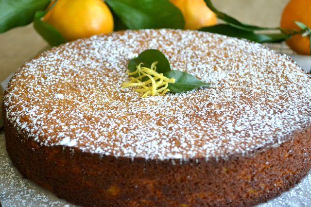 Flourless Whole Tangerine Cake Gluten Free From Taste Com Au
