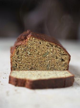High Protein Bread Recipe Jamie Oliver Bread Recipes Recipe Protein Bread Protein Bread Recipe Food