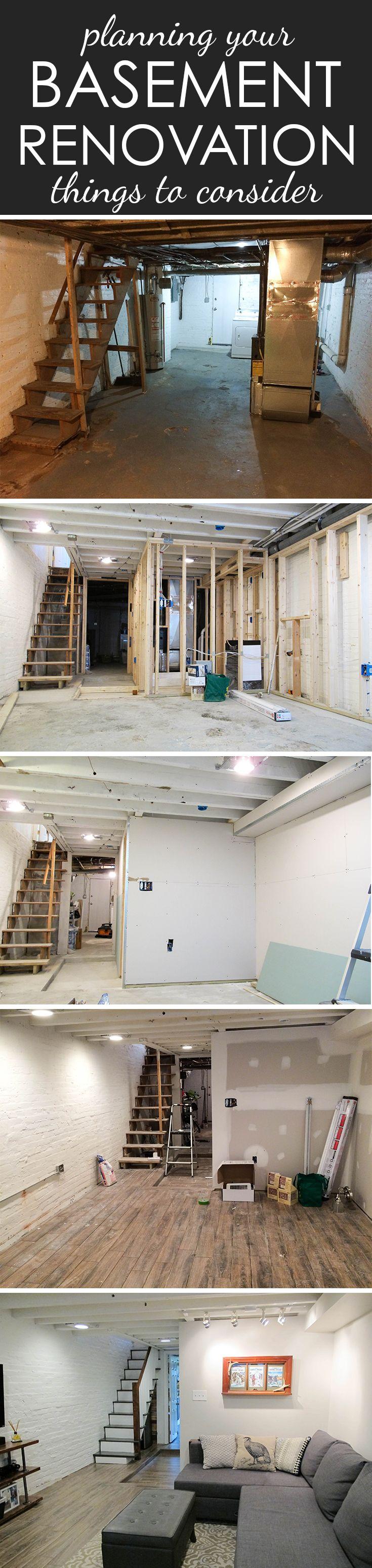 Planning A Basement Renovation Below Grade Plumbing Framing Basement Renovations Renovations Add A Bathroom