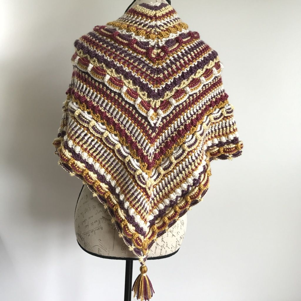 The Lost In Time Shawl by Mijo Crochet (Pattern Review) – Stitch Me ...