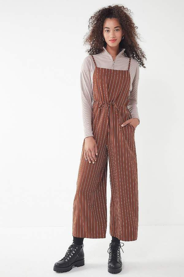 38c132714b7 Sale Items in Women s Clothing. Urban Outfitters Striped Square-Neck  Jumpsuit