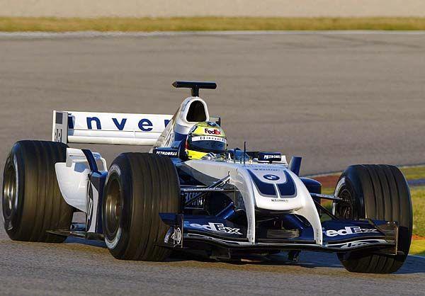 2004 Williams FW26  BMW Ralf Schumacher  2004 Formua1