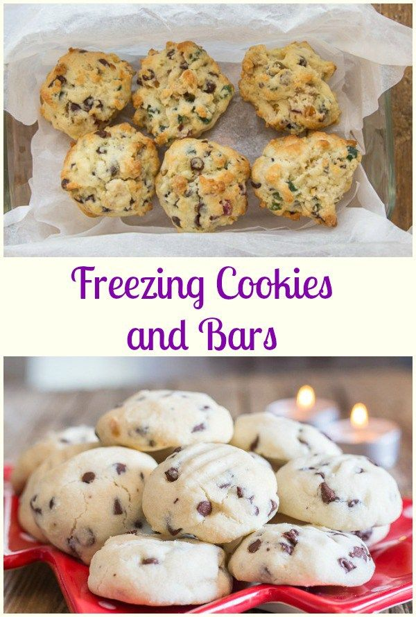 Freezing Cookies and Bars, easy tips on how to freeze ...