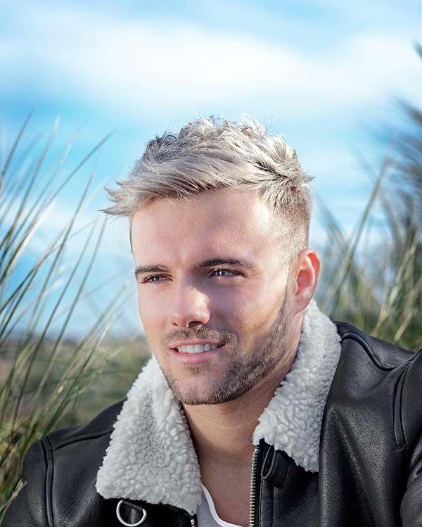 24+ Undercut blond männer stylen 2020   Blonde männer, Haar frisuren männer, Männer kurzhaarschnitt