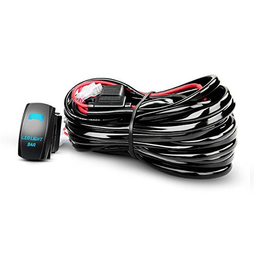 Nilight Led Light Bar Wiring Harness Kit 12awg Heavy Duty