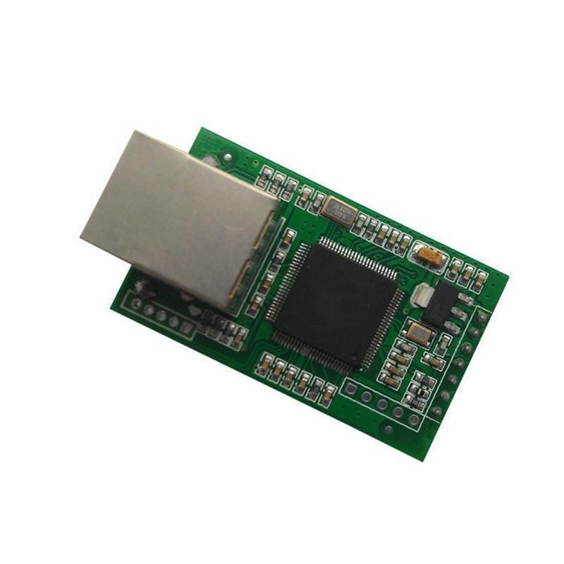 Dual serial RS232 TTL to Ethernet Converter TCP IP Module,PC