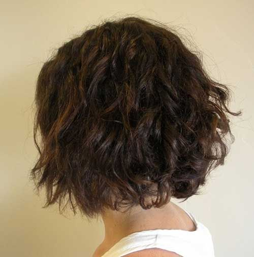 25 Curly Perms for Short Hair  No Stress Tresses  Wave perm short hair Wave perm Short