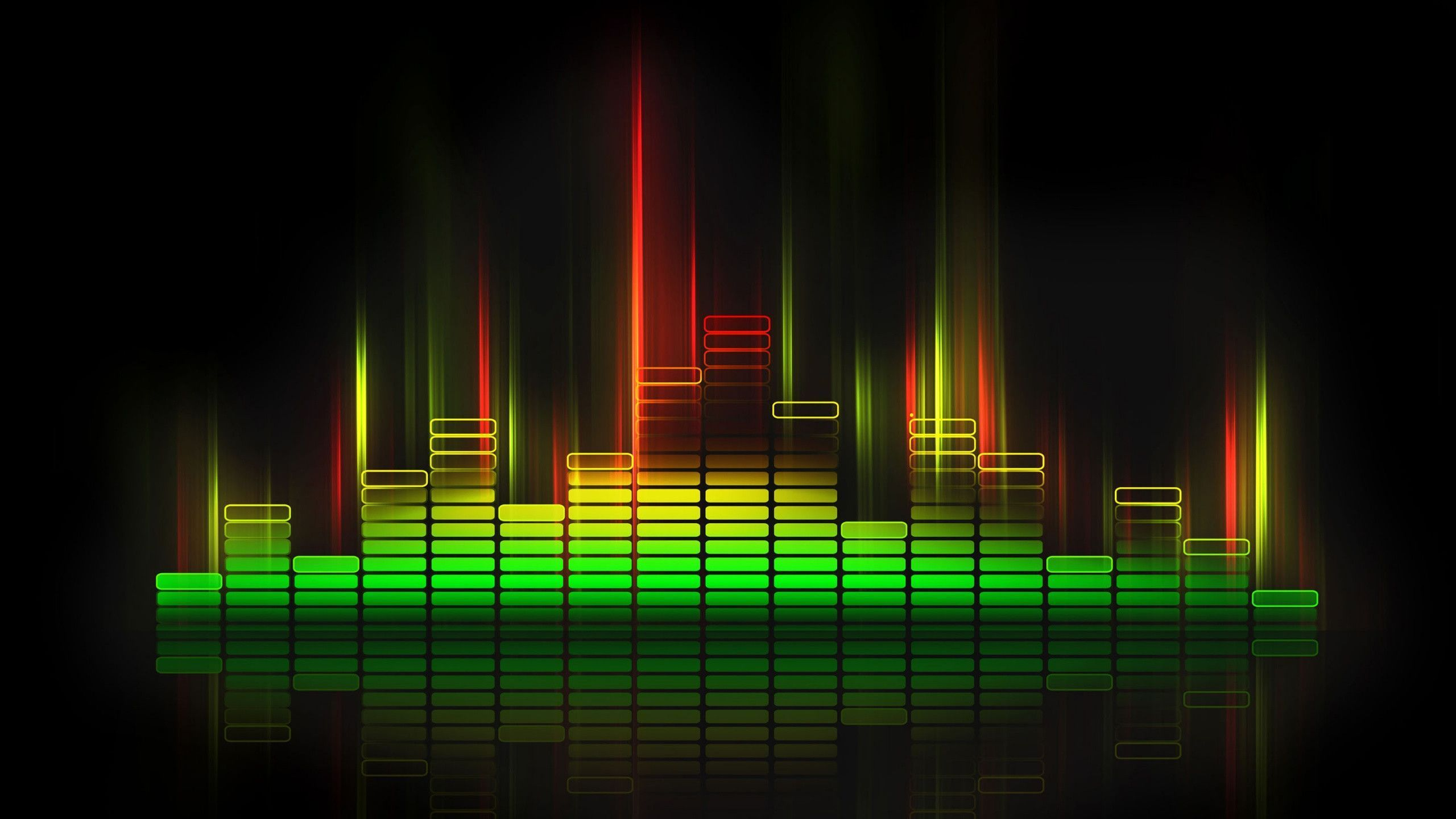 Equalize Sound Wave HD Wallpaper| Nine Wallpaper | Music