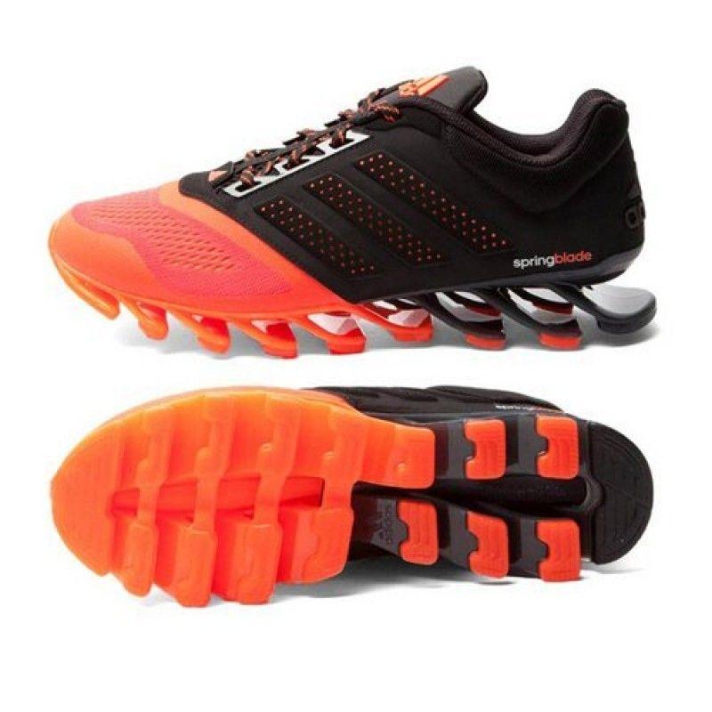 ecf0bd0a71e003 Adidas Springblade Black   Orange Shoes  SportShoe  adidas