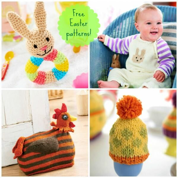 Take A Look At Our Free Easter Crochet Knitting Patterns Here