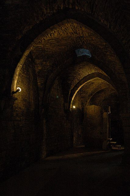 Cellar in Gravensteen Castle by telex4, via Flickr