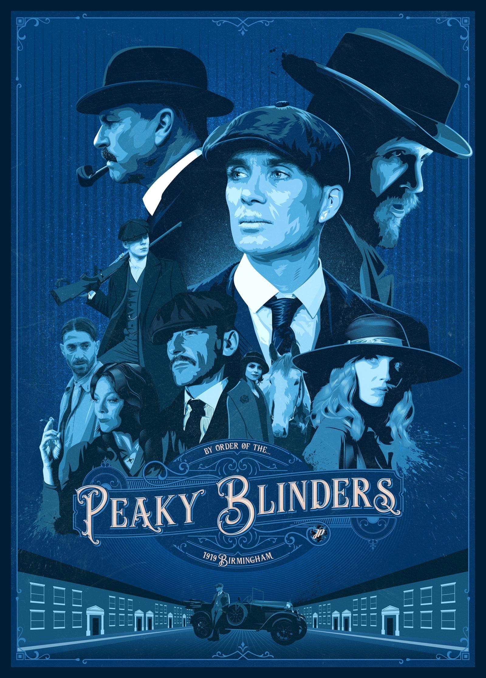 Poster of Peaky Blinders Season 6