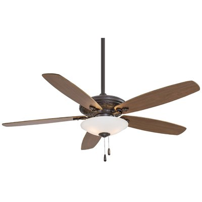 Minka Aire 52 Mojo 5 Blade Led Ceiling Fan Finish Oil Rubbed Bronze With Dark Walnut Blades