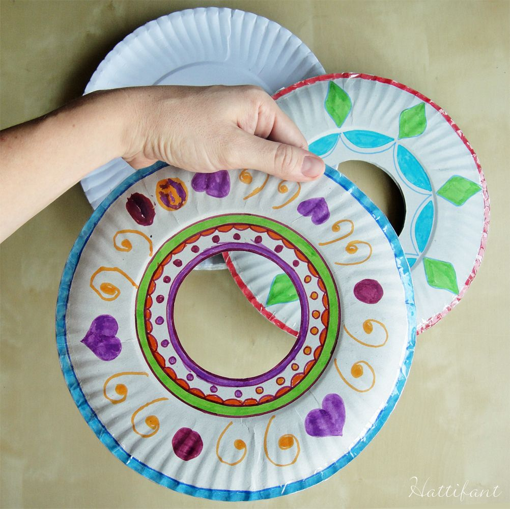 PaperPlateFrisbee - 2 paper plates with clear tape around the edges & PaperPlateFrisbee - 2 paper plates with clear tape around the edges ...