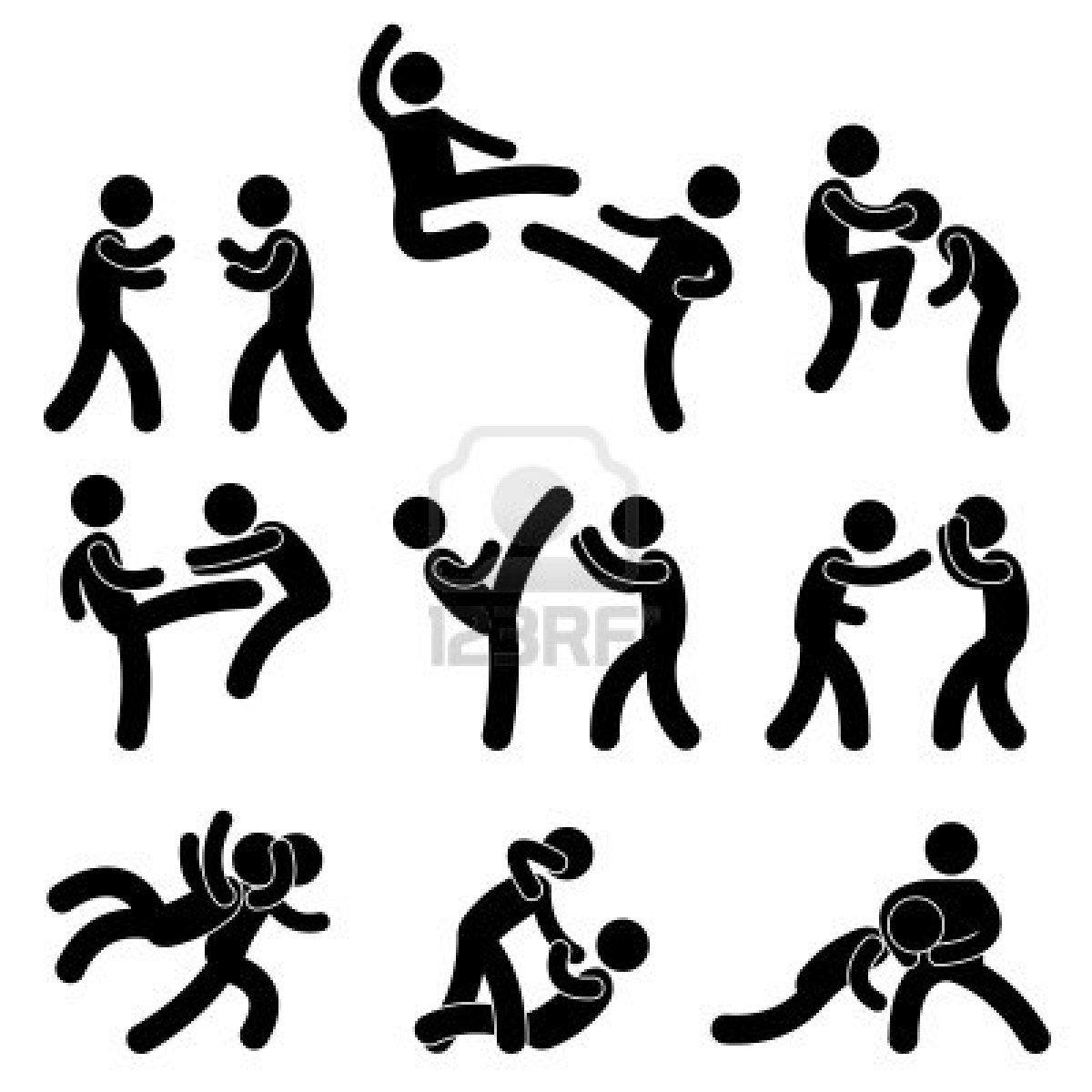 11102674 Fight Fighter Muay Thai Boxing Karate Taekwondo Wrestling Kick Punch Grab Throw People Jpg 1200 Stick Figure Fighting Muay Thai Stick Figure Drawing