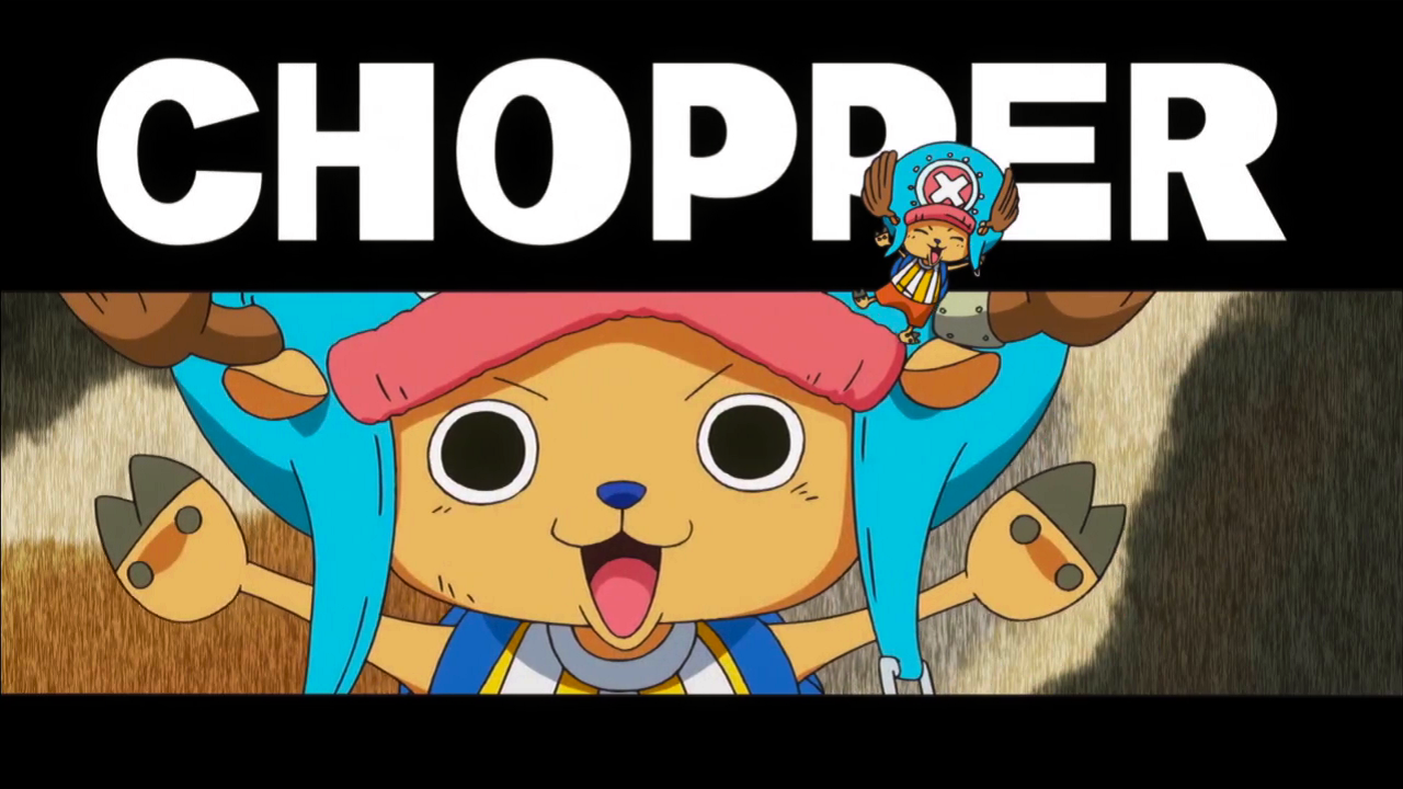 Chopper, We Go! One piece, Chopper, Anime comics