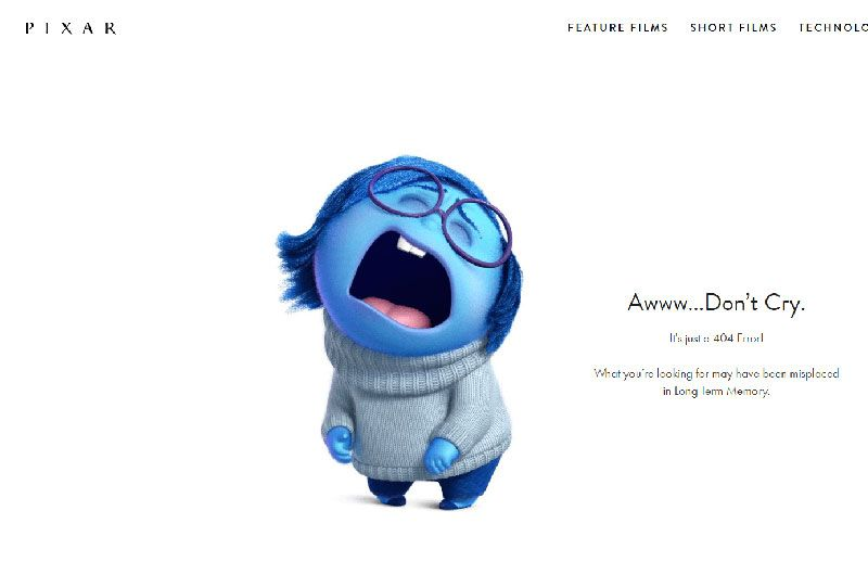 Image result for pixar 404 error