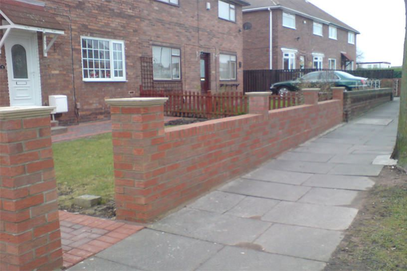 Good Front Garden Wall Designs   Google Search