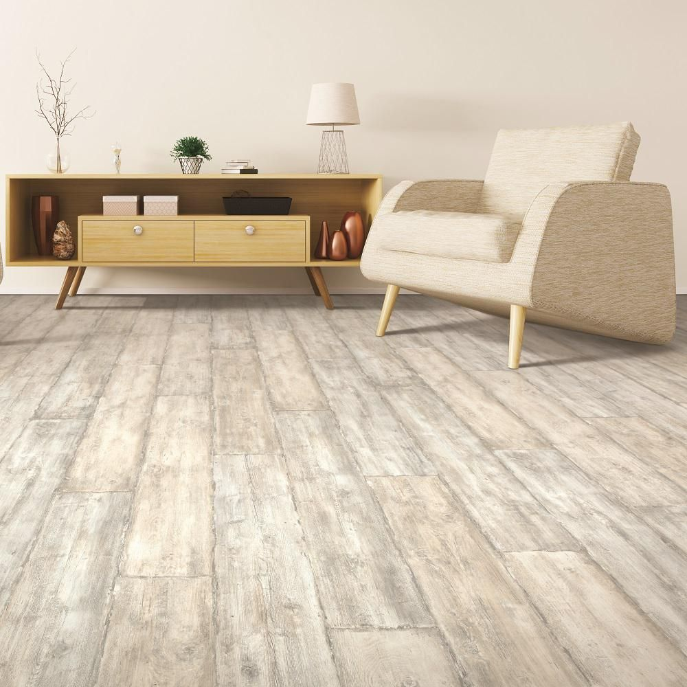 Pergo Outlast+ Salted Oak 10 Mm Thick X 7-1/2 In. Wide X