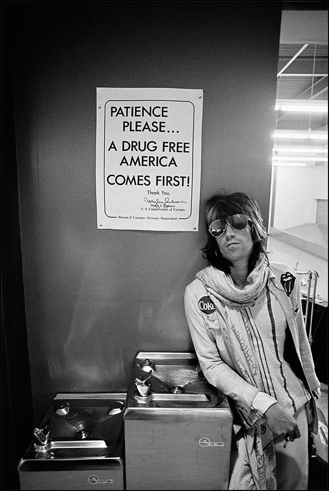 promo code 88ecb fb043 Keith Richards, Patience Please, Rolling Stones, American ...