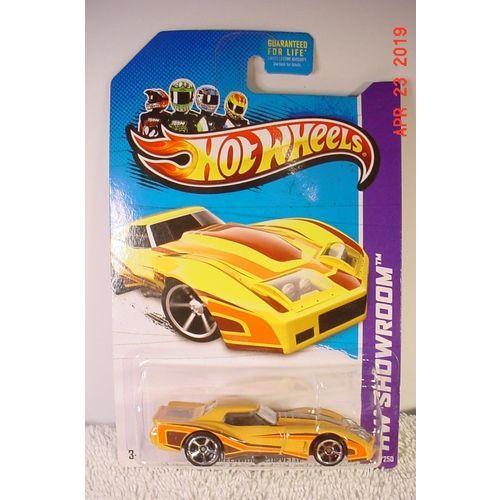 1976 Greenwood Corvette Widebody Yellow 1/64 #208 2013 Hot