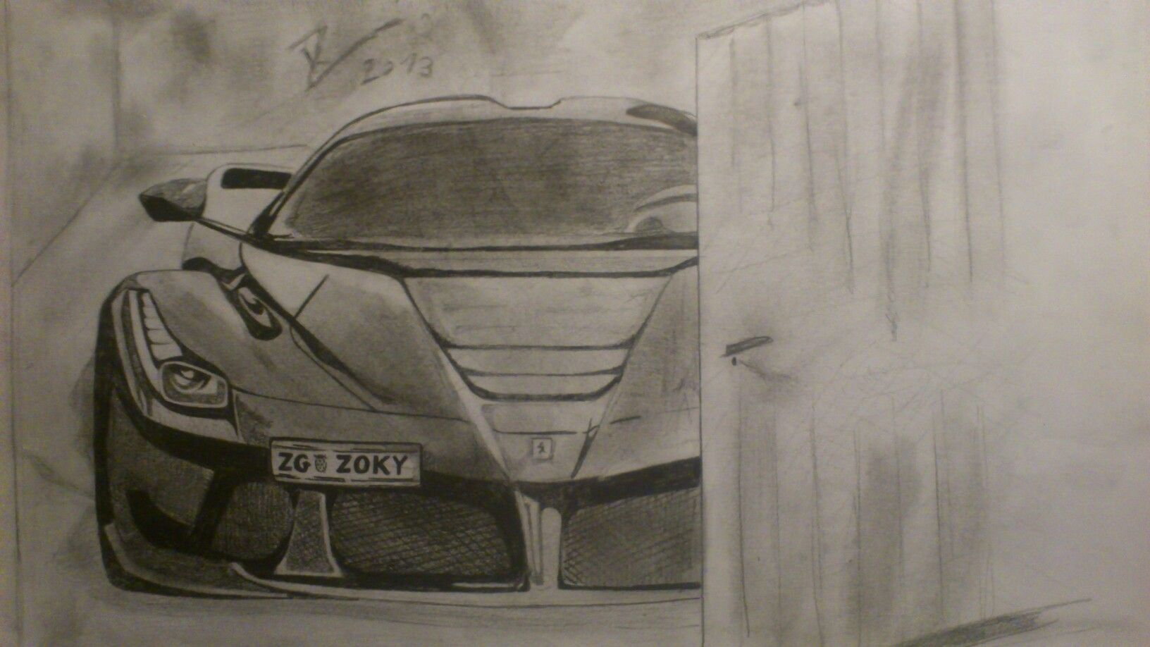 Laferrari My Drawings Pinterest